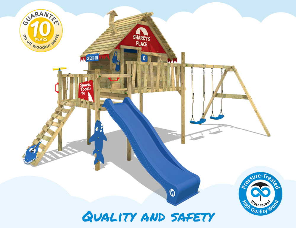 Wickey Smart Bay Climbing Frame Kids Tower Playground