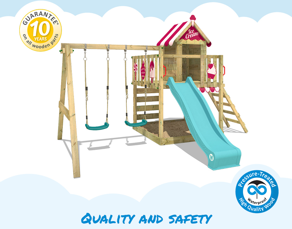 Wickey Climbing Frame Smart Candy Garden Playground With