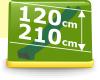 Podesthöhe 120-210