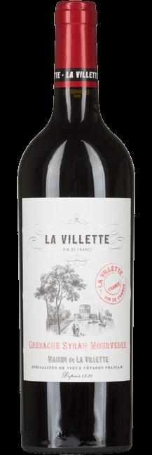 La Villette Grenache / Syrah / Mourvedre VdF