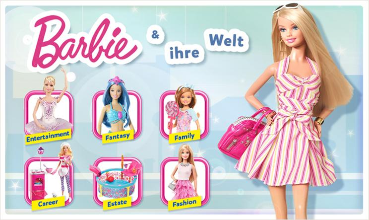 Barbie-Puppe, Barbie-Haus, Barbie-Kleider ➤ jetzt online shoppen ...