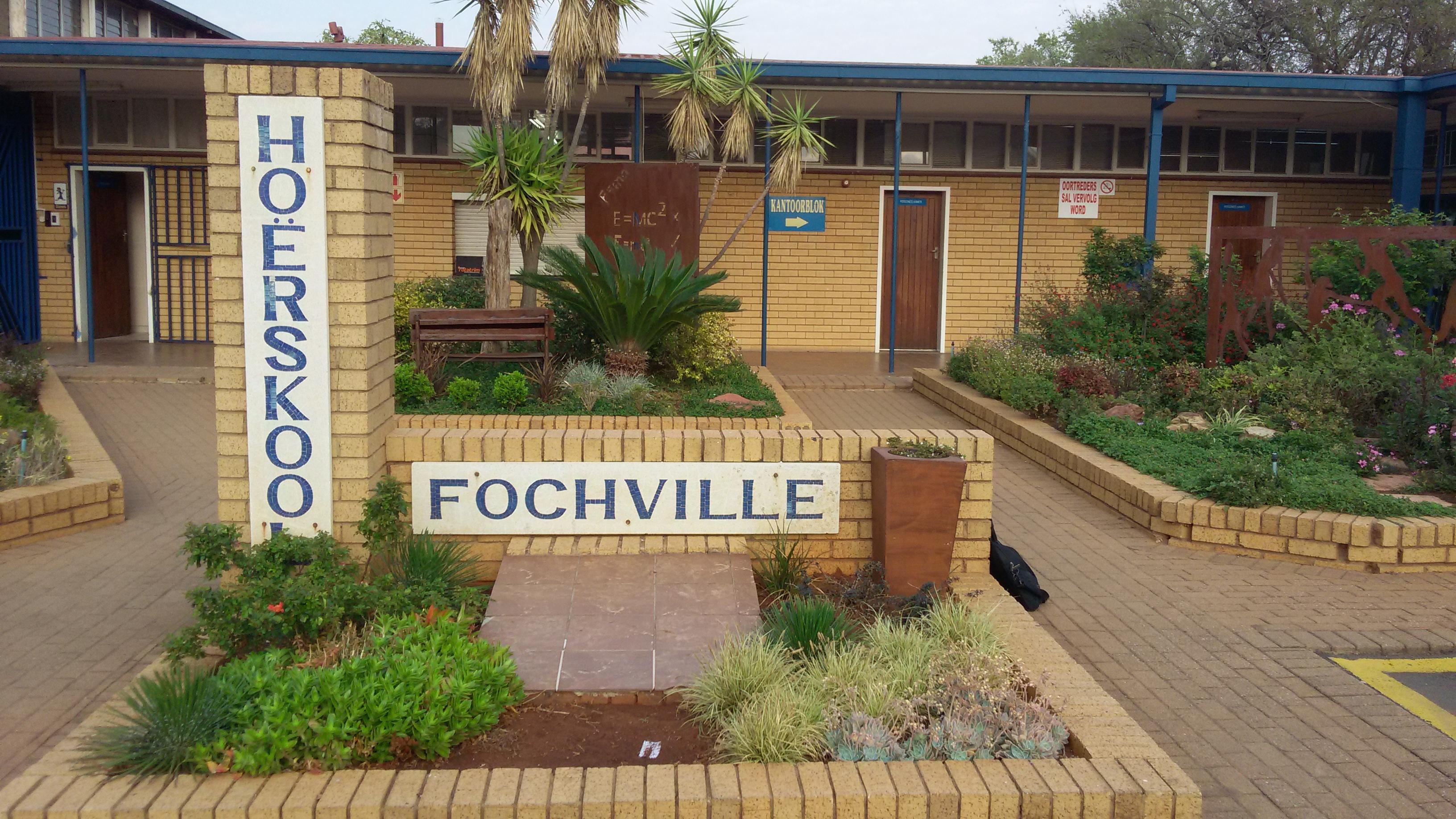 Hoërskool Fochville.