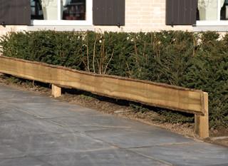 Douglas fijnbezaagd schaaldeel, 1,9 x 12-25 x 250 cm, onbehandeld.