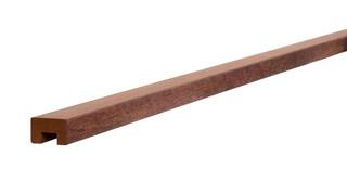 Hardhouten geschaafde damwandregel 4,5 x 6,8 x 200 cm, met sponning