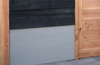 Trasraam B stucwerk grijs 228,5 x 34 cm.