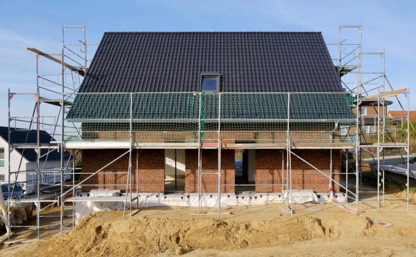 Tag 44: Dach jetzt auch mit Dachziegeln