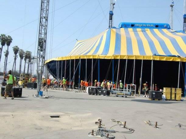 circus, temporary tent