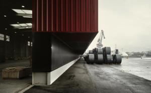 © [baragaño] architects. Docks in Aviles Port, Spain. (Source: http://www.barchitects.eu/w-pro03.html)