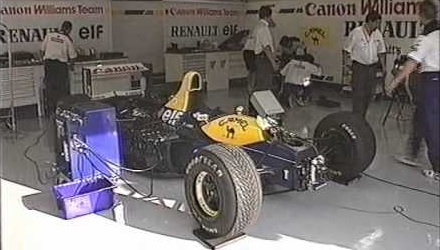 Williams FW14B Active Suspension 1993