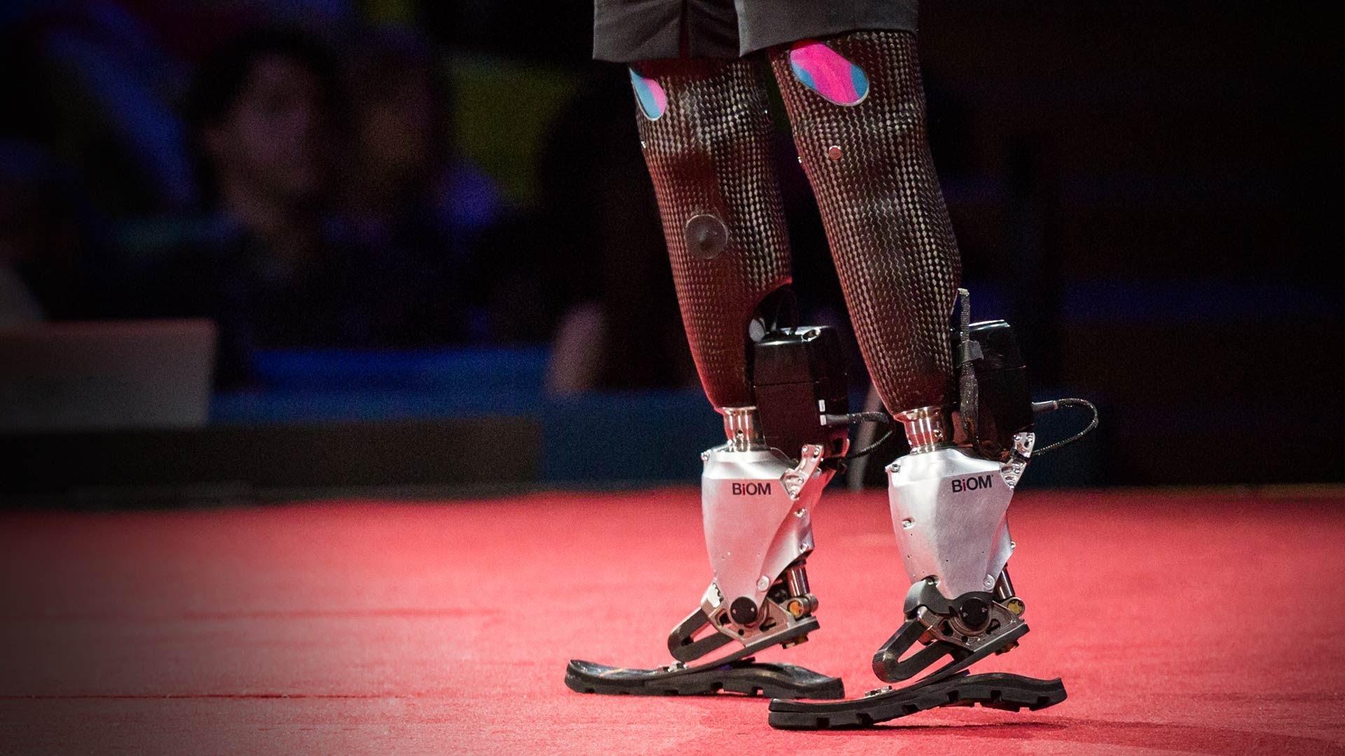 hugh herr robotic legs