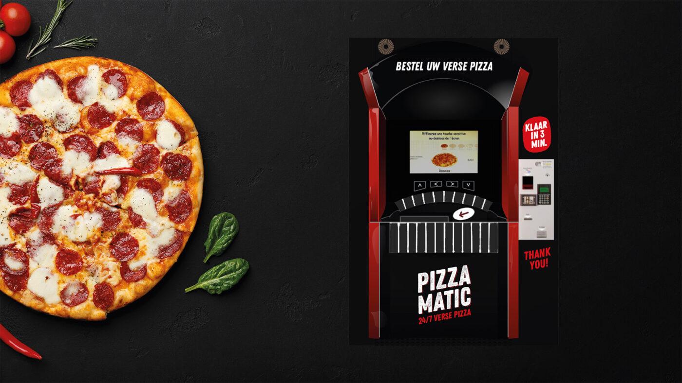 Donna Italia en Pizza-Matic