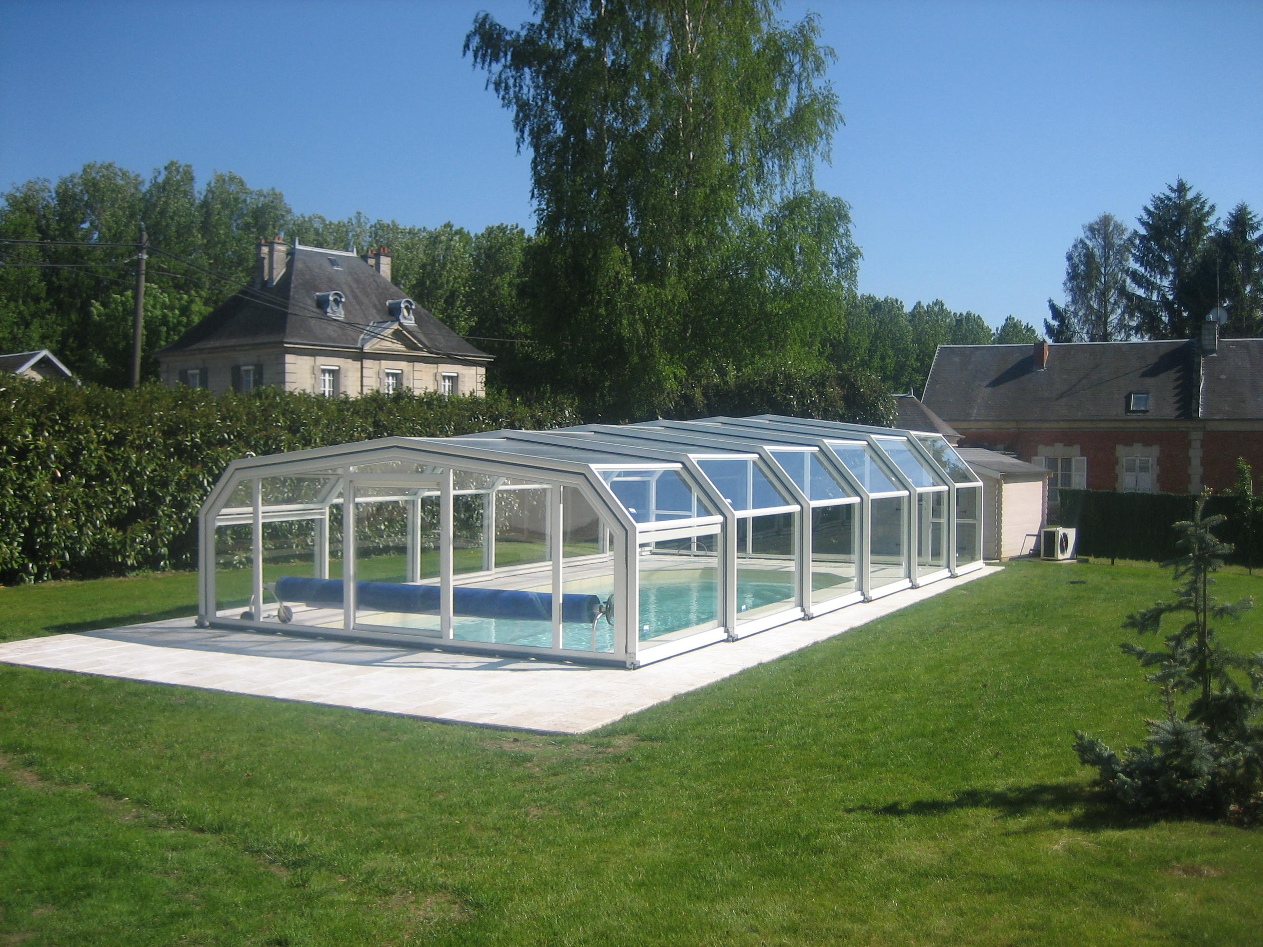 Copertura piscina alta alluminio