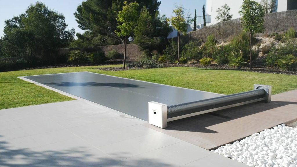 Copertura piscina calpestabile Coverseal manuale