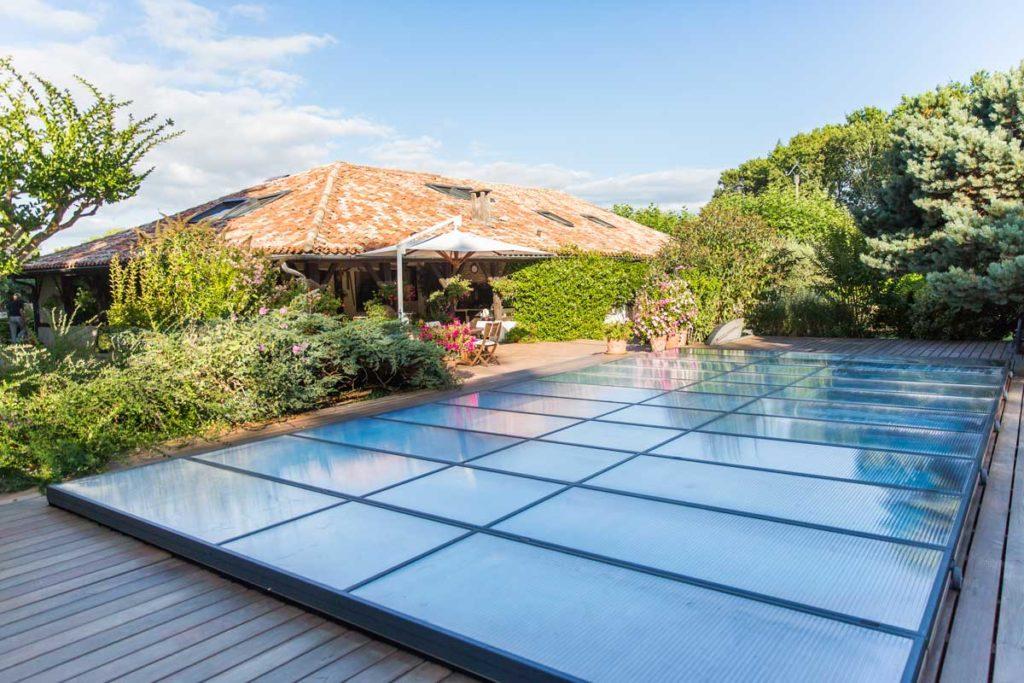 Copertura piatta piscina