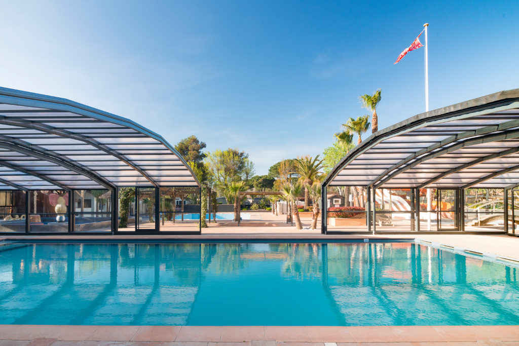 Copertura alta XXL piscina