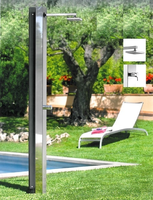 Doccia solare per piscina