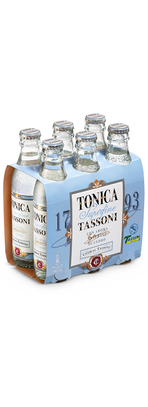 Tonica Superfine Tassoni with citron natural aroma