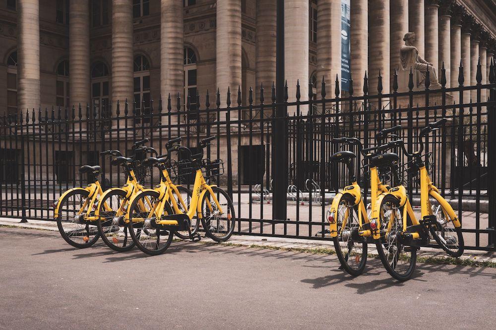 ofo bike sharing free floating