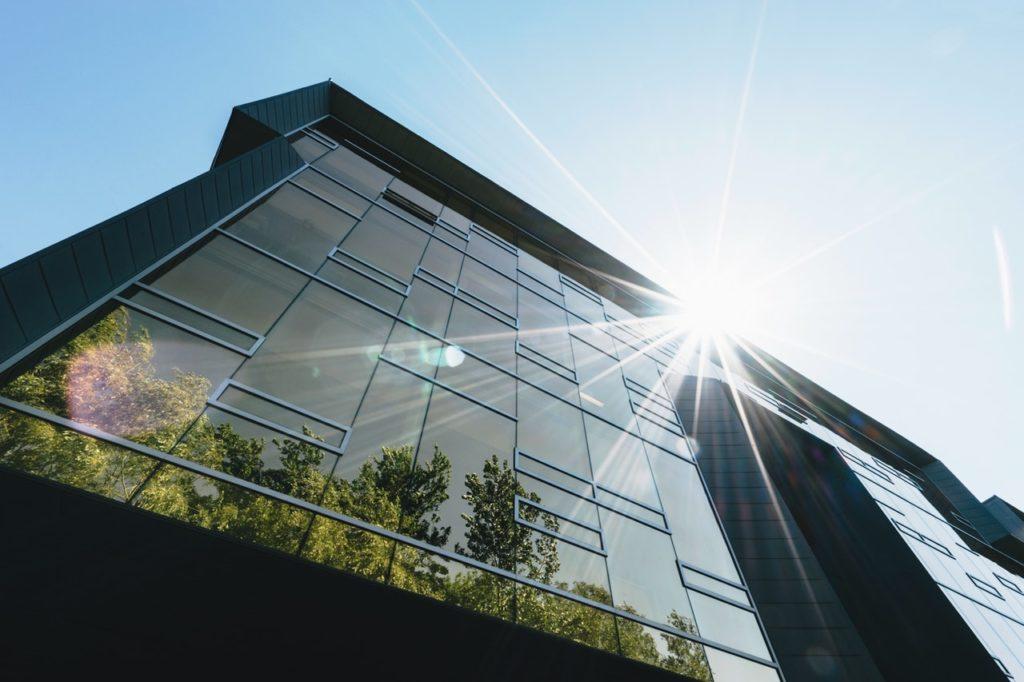 Edificio ad elevata sostenibiltà energetica