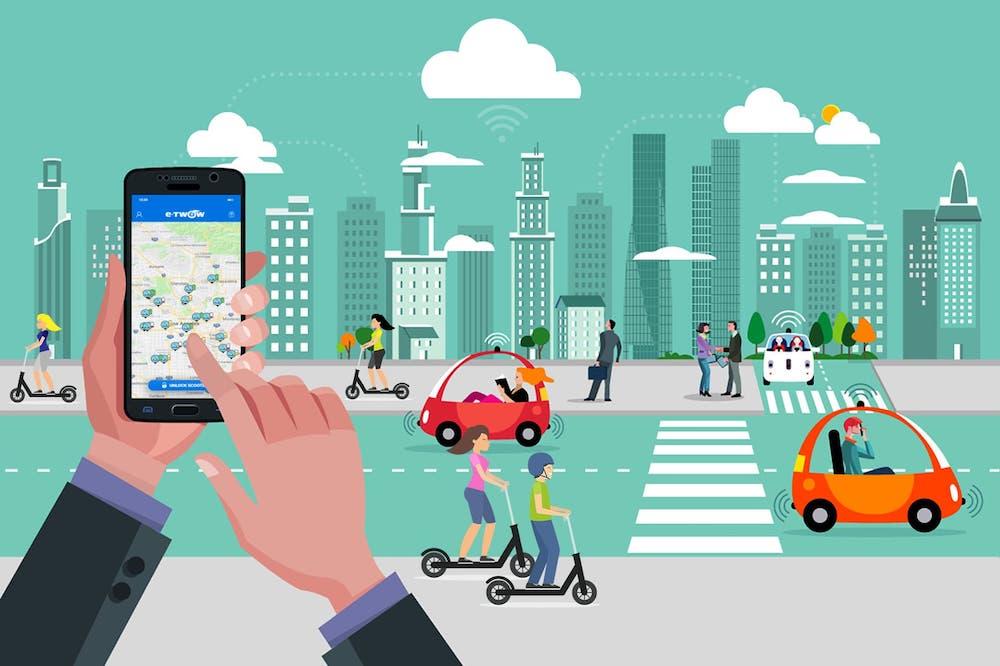 Smart mobility e sharing economy