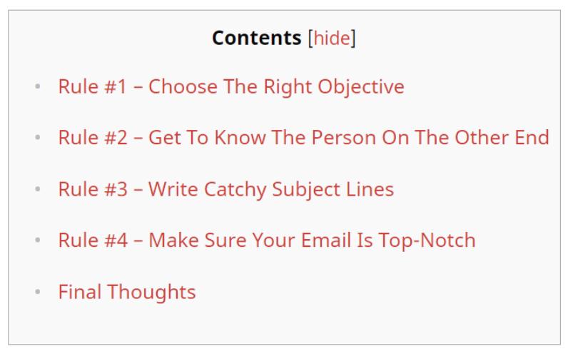 esempio-table-of-content