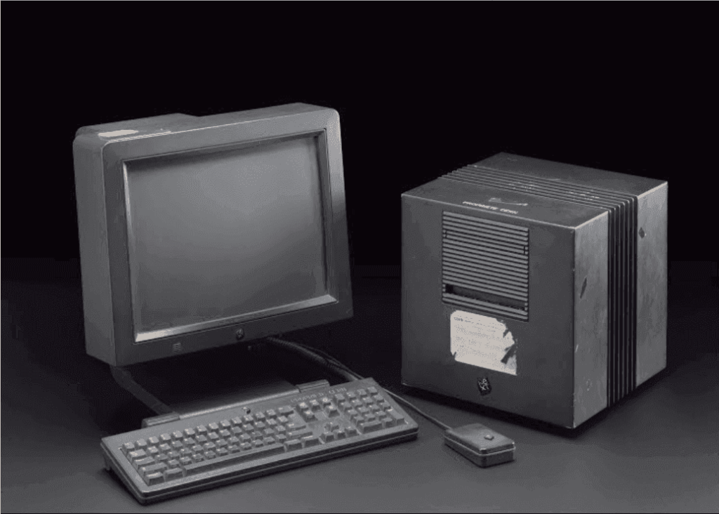 Foglietto NeXT computer