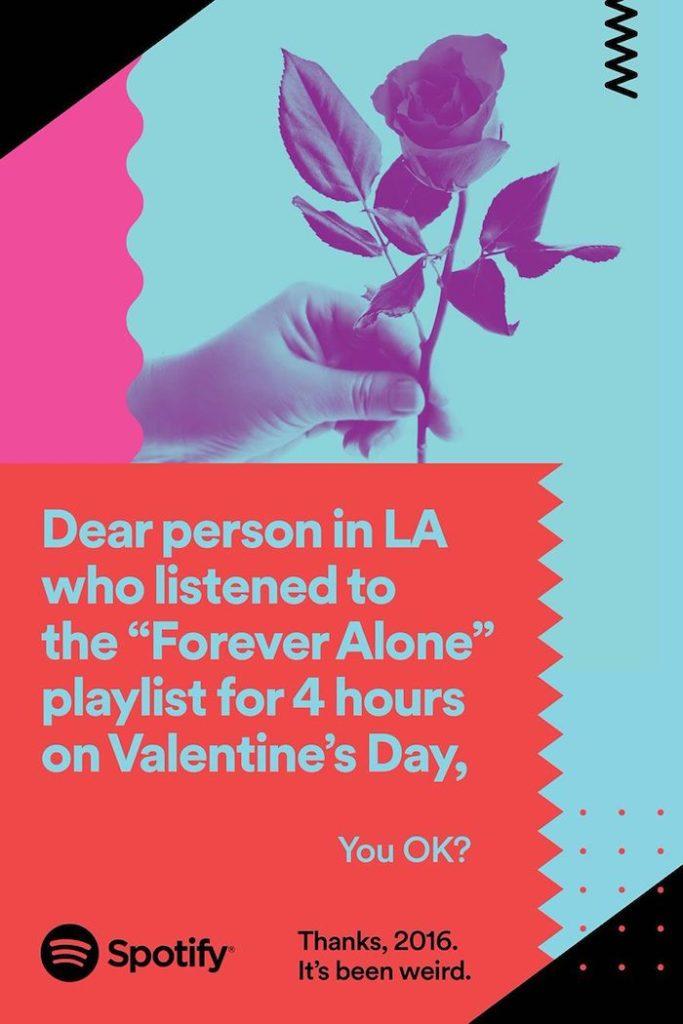 Spotify san valentino