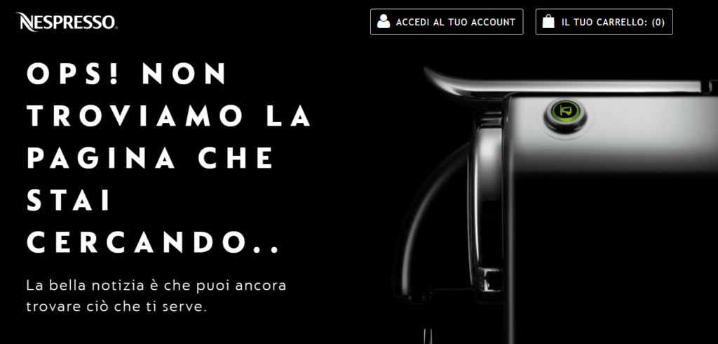 nespresso tone of voice pagina 404