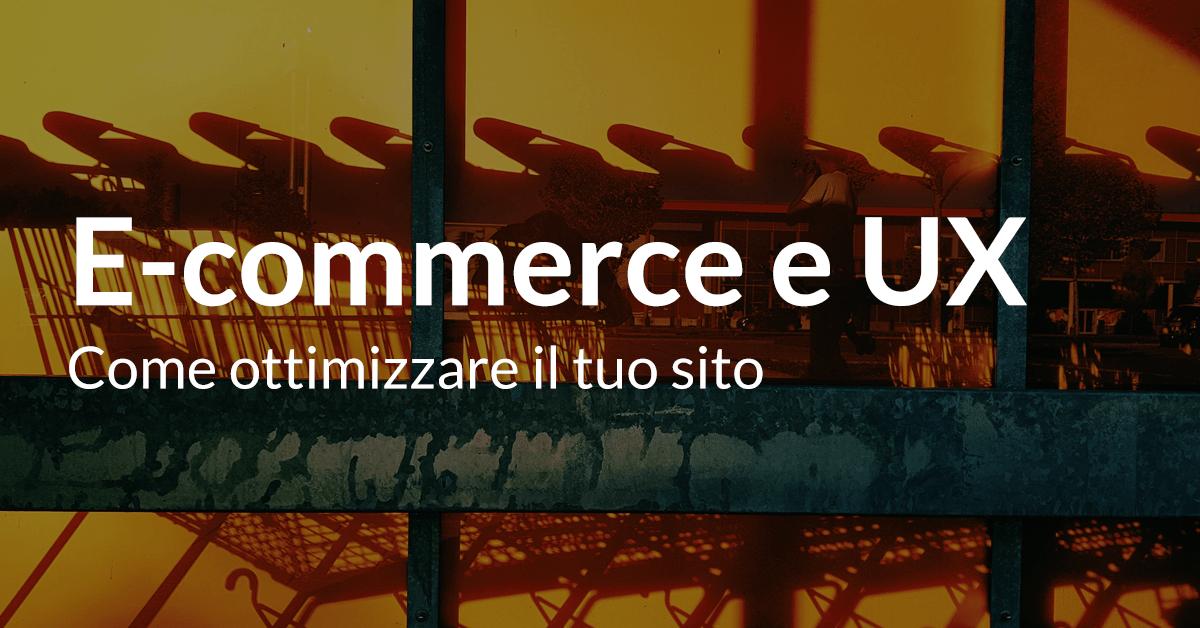 ecommerce UX