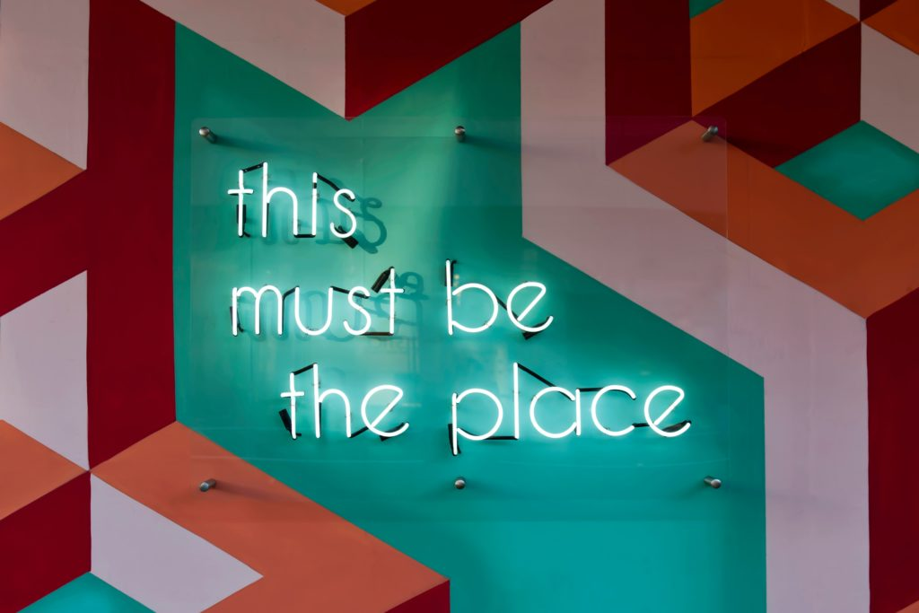 this must be the place neon