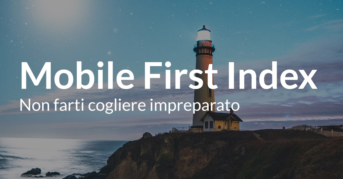 mobile first index guida