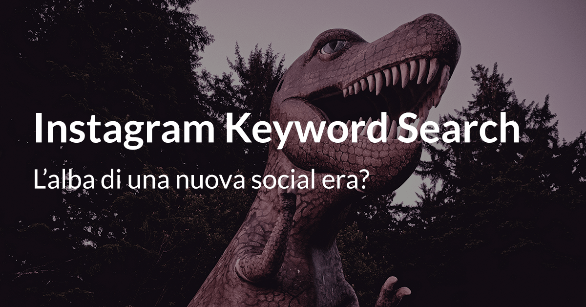 Instagram keyword search