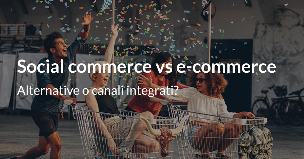 social commerce vs ecommerce