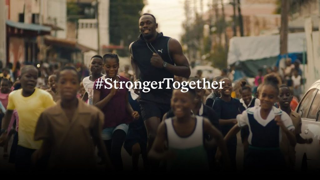 stronger together campaign sport