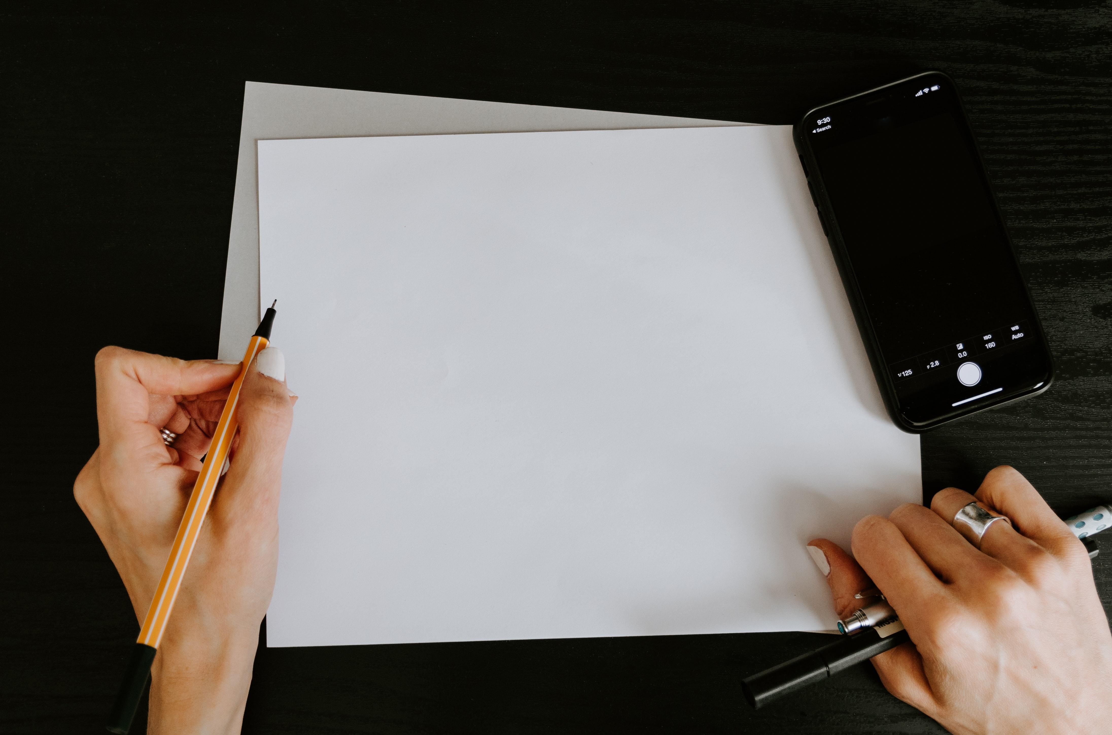 tipi di carta da scrivere