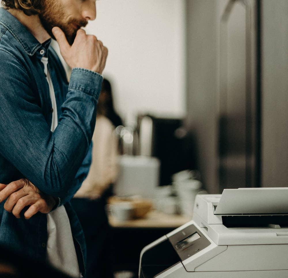 scelta tra acquisto e noleggio stampante