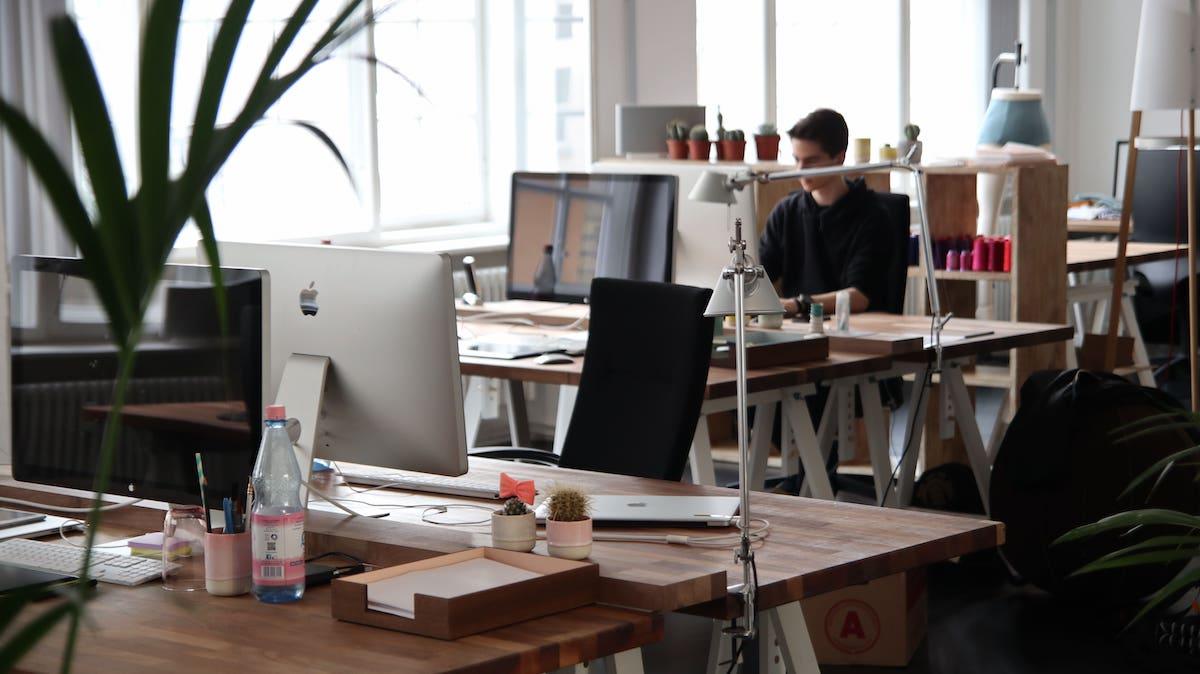 Esempio di come arredare un ufficio