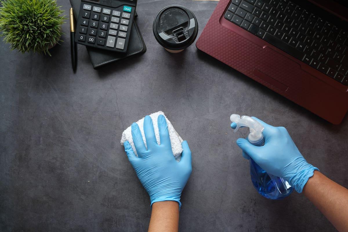 sanificazione ambiente di lavoro