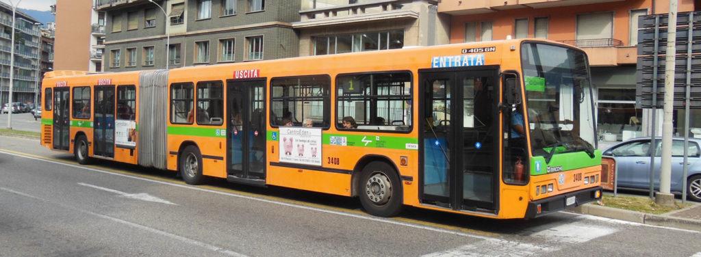 Bus service, Lake Como