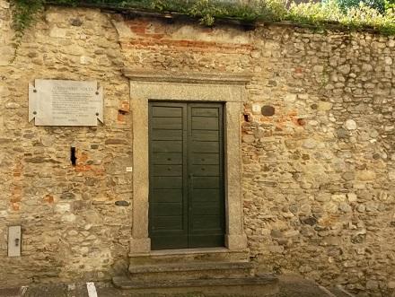 Alessandro Volta's house in Gravedona