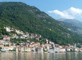 Lake Como towns