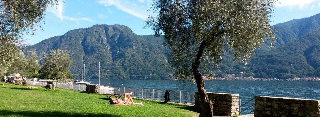 Lake Como beaches