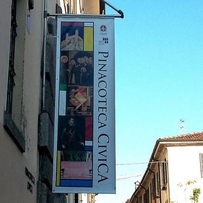 Civic art gallery, Como