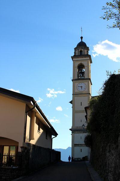 Sant'Abbondio bell tower in Mezzegra