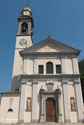 Church of Santi Pietro and Paolo, Nesso, Italy