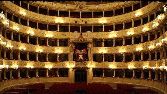 Inside the Teatro Sociale, Como