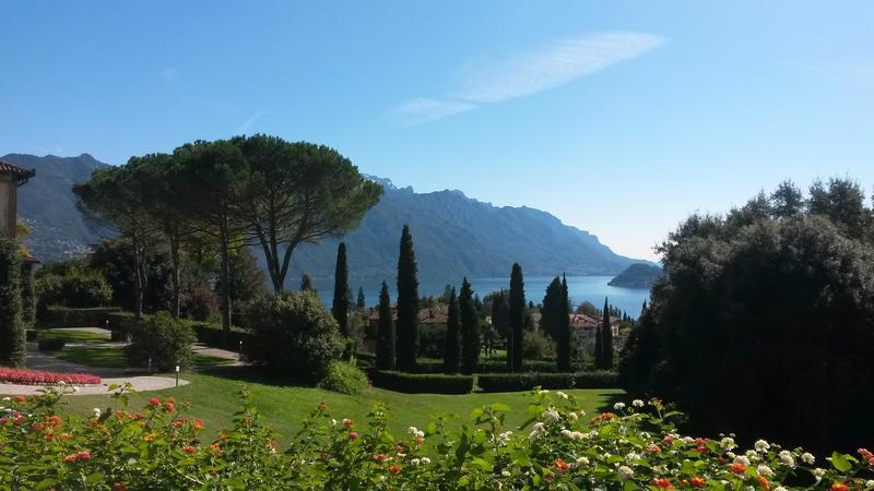 Gardens of Villa Vigoni, Menaggio, Italy