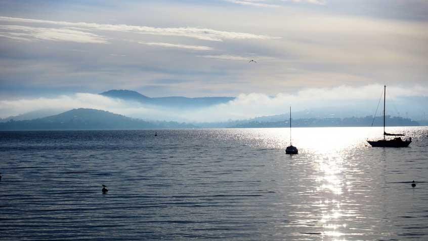 Lake Como sailing