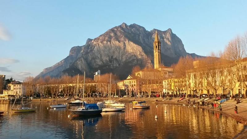 Lake promenade of Lecco