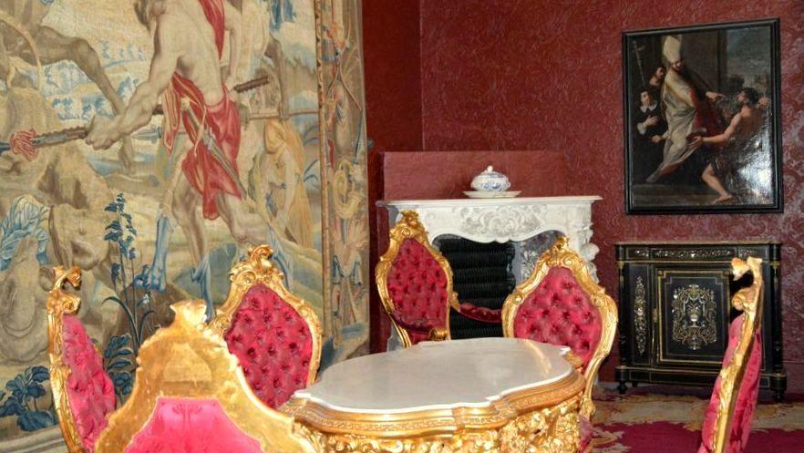 Interiors of Villa Monastero